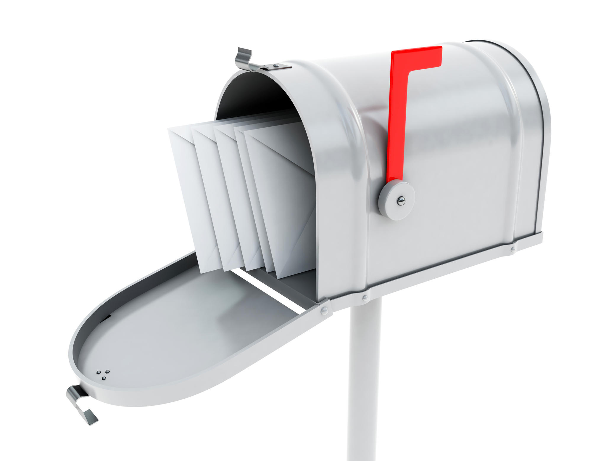 Mailbox With Mail White Mailbox With Mail NusaNet Nongzico
