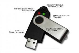 VoiceLok, Flashdisk dengan sistem keamanan suara